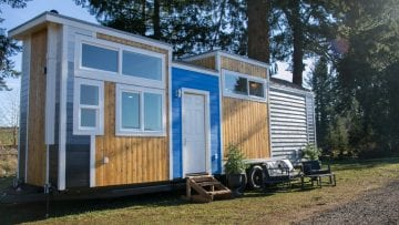 This beautiful tiny home doubles as a tasty doughnut shop