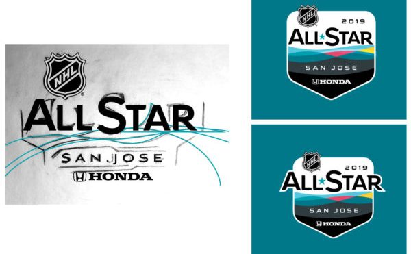 NHL All-Star Logo Embraces Tech Dominance of San Jose with 'Energy Wave'