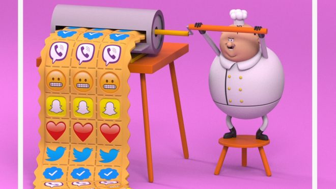 Voxi puts a new spin on all-you-can-eat with animated social campaign