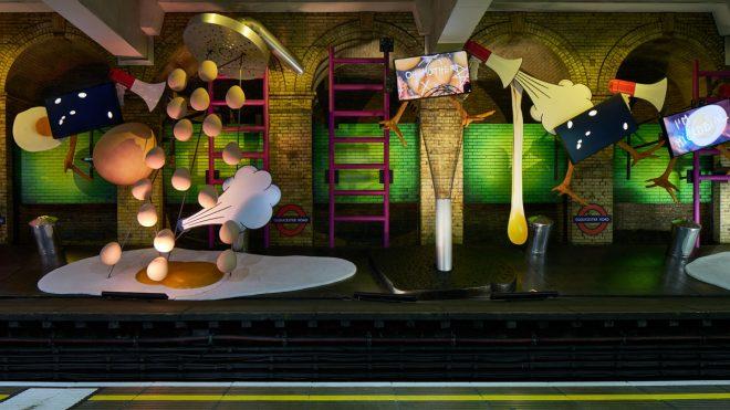 How I Work: Eleanor Pinfield, Art on the Underground