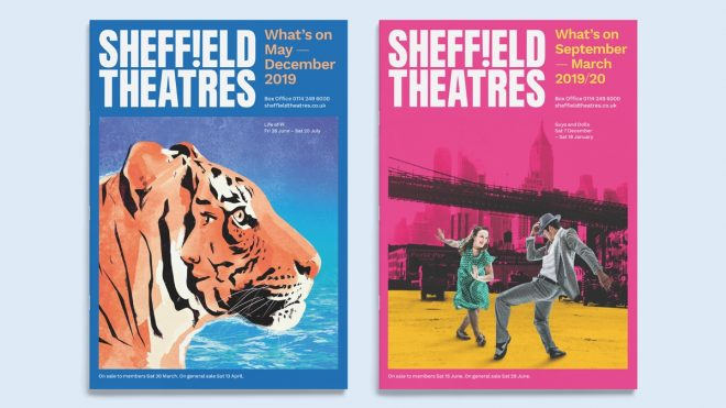 Sheffield Theatres' rebrand evokes the power of live performance