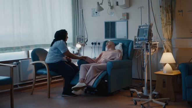 Latest NHS recruitment ad emphasises the role of nurses in society