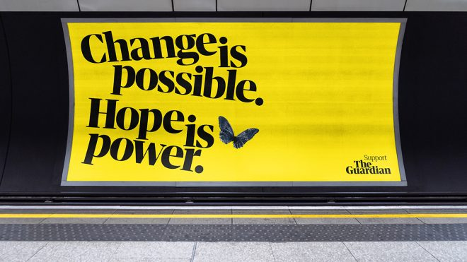 The Guardian's Hope is Power campaign aims to inspire change