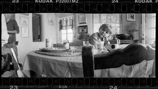 Life on set as captured by Jeff Bridges