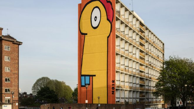 Thierry Noir on street art that brings hope