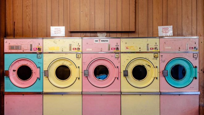 A new book on launderettes provides a colourful homage to a dying breed