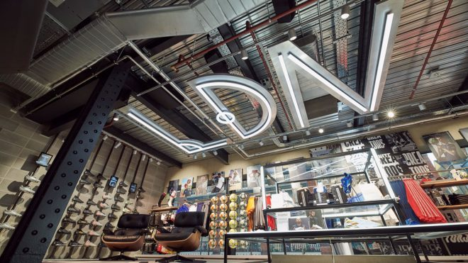 Behind the scenes at adidas' new London flagship