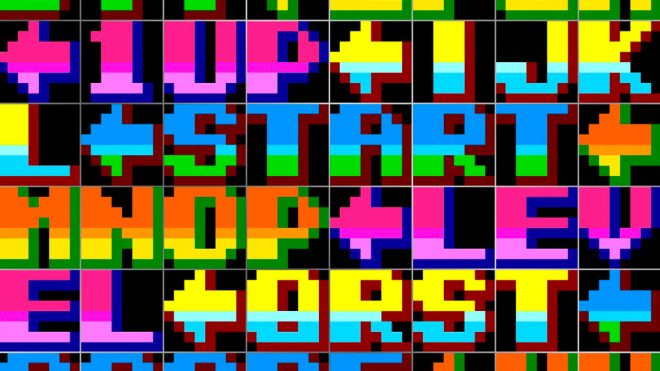 A visual history of arcade game typography