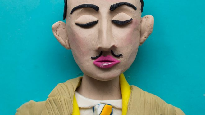 All your favourite Surrealists remodelled in Play-Doh