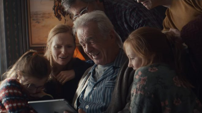 Apple's Christmas ad is a real festive tearjerker