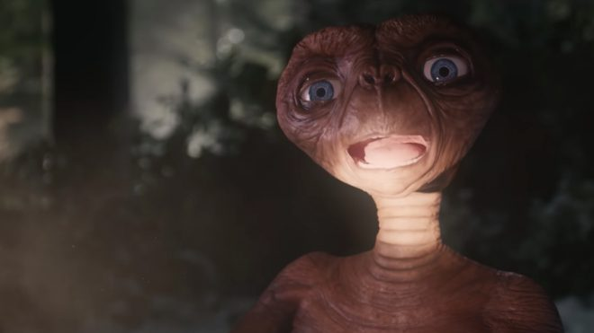 ET comes home for Christmas in Sky's festive ad