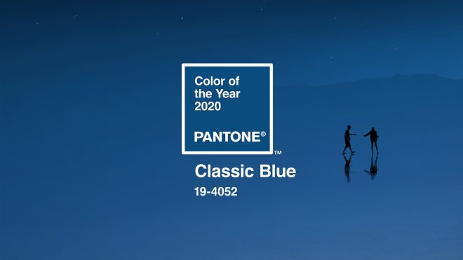 Classic Blue is Pantone's Colour of the Year 2019