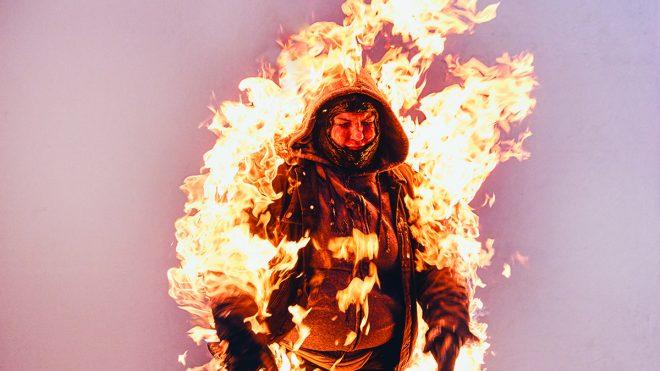 Fire School by David Ryle