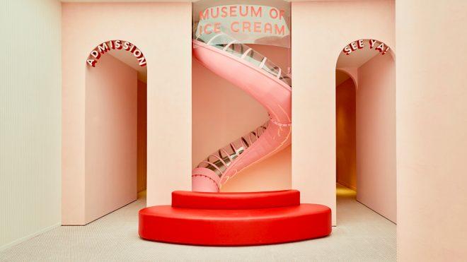 I scream, you scream, we all scream for the Museum of Ice Cream's new identity