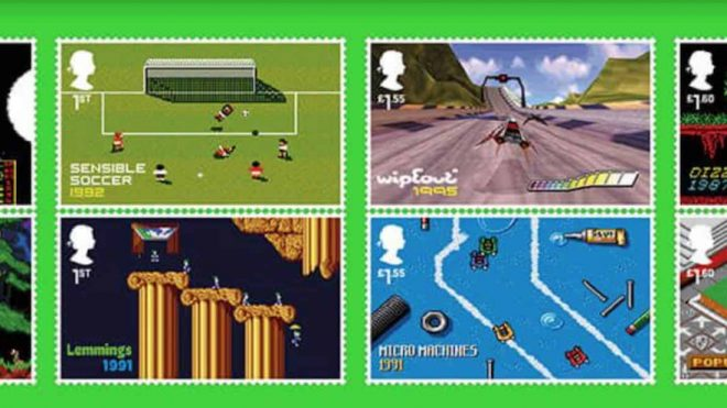 Retro video games showcased on new Royal Mail set of stamps