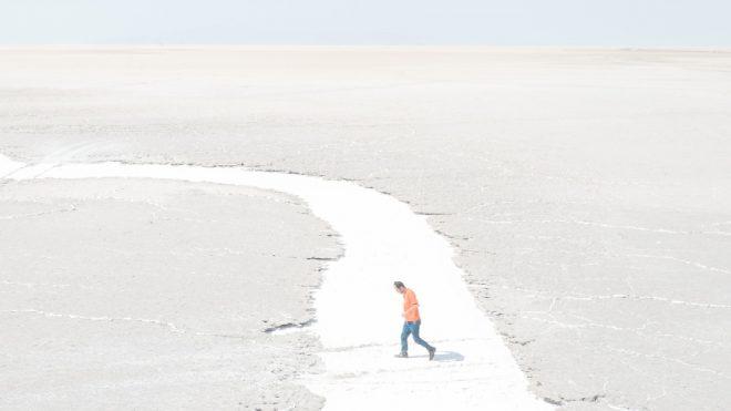 Maximilian Mann captures the shrinking landscape of Lake Urmia