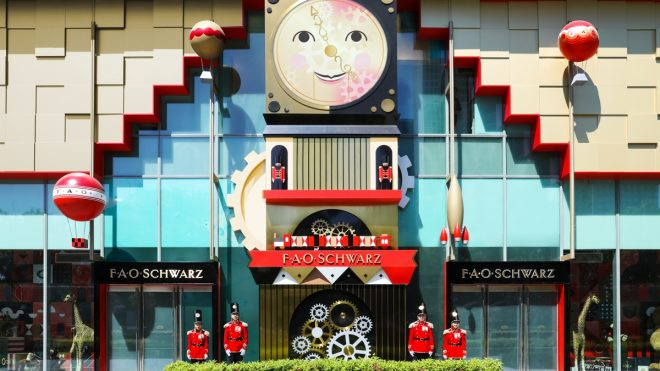 What does it take to design a toy shop?