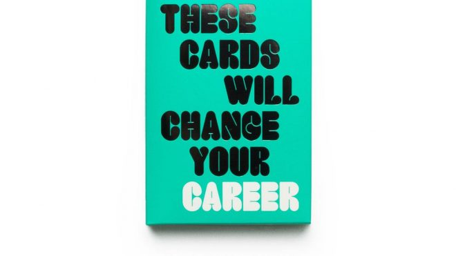 Shake off your January work blues with Laurence King's self-help career cards
