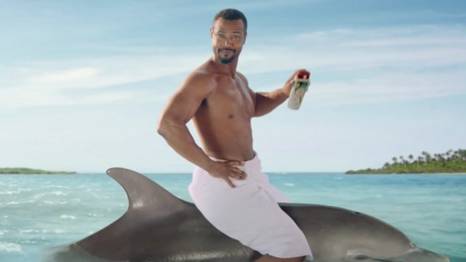 The Old Spice guy is back – and he's brought his son along too