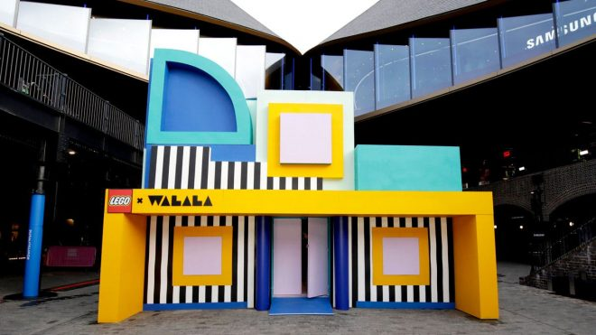 Camille Walala's latest project gets a dose of Lego magic