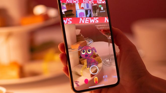 Sketch launches AR app bringing David Shrigley's art to life