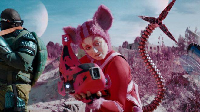 The future is weird but familiar in Three's mini sci-fi film
