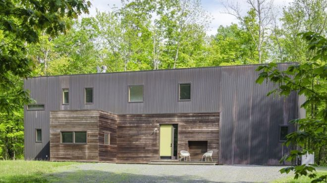 Copper-clad contemporary asks $775K in upstate New York