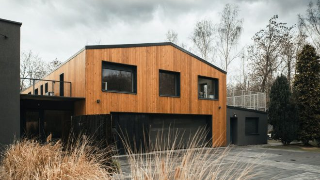 A Modern Barn-Inspired House With Remnants of An Old 70's Structure