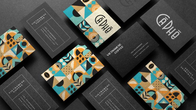 Graphic Design, Branding, and Packaging Design by Cong Anh for Vietnamese coffee brand CA PHE.