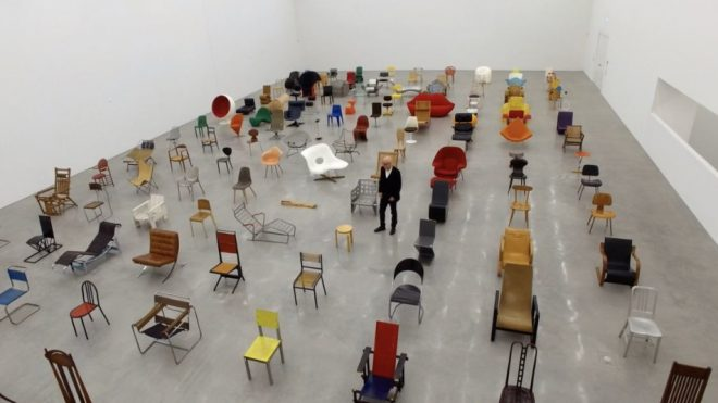 Here's 90 minutes of people talking about chairs