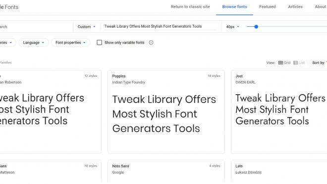 10 Best Websites To Download Free Fonts Online
