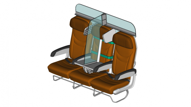 Middle seat empty? This device could help with social distancing