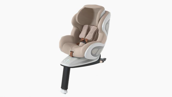 This Carbon Fiber-Framed Car Seat Uses Military Energy-Absorption Technology