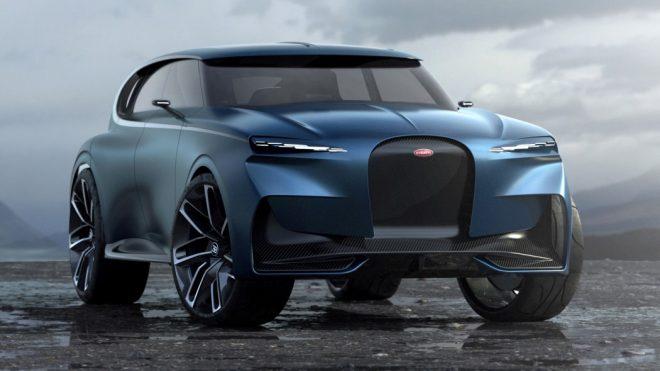 The Bugatti Spartacus SUV gives the company its own 'Lamborghini Urus' moment