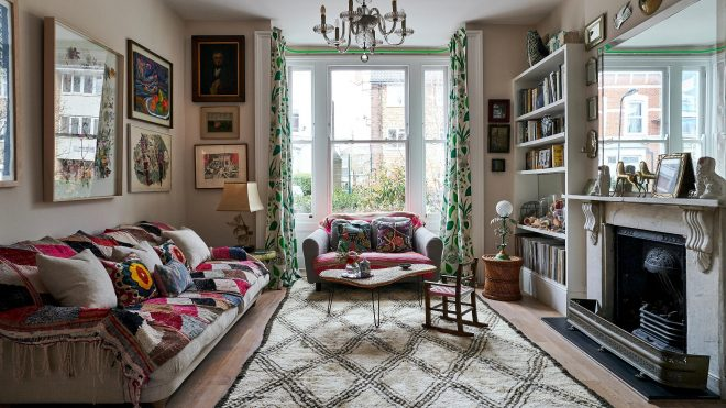 Setting the scene: a home with a dramatic flourish