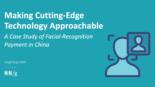 Making Cutting-Edge Technology Approachable: A Case Study of Facial-Recognition Payment in China