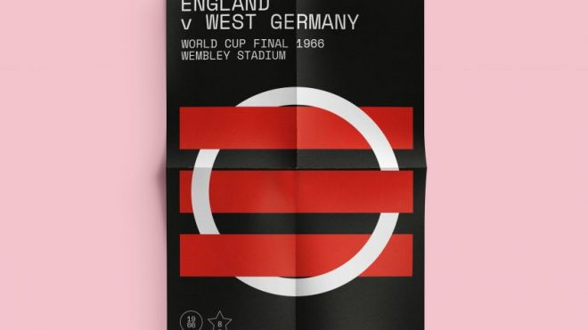 Classic match day posters designed by From 12 Yards to celebrate the beautiful game