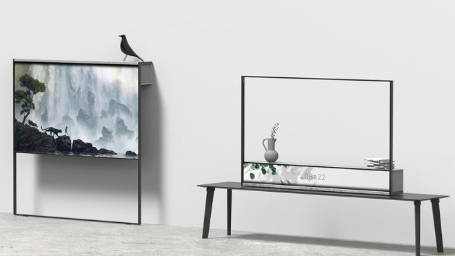 This conceptual rollable tv solves the one issue with other rollable TVs