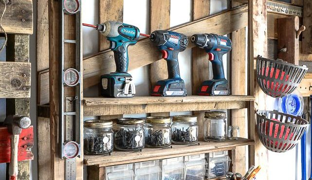 DIY Pallet Storage Ideas That Are Fast And Easy To Make