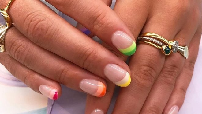 This is the manicure trend sparking joy all over Instagram