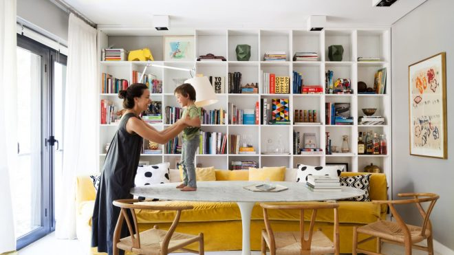 This Buenos Aires Home Has Some of the Best Bookshelves We've Seen Yet
