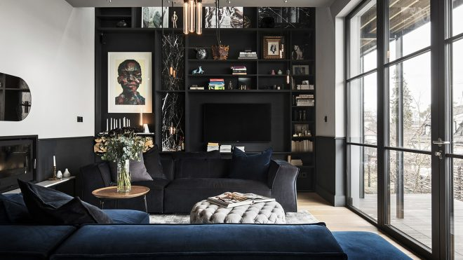 A Look Inside Massimo Buster Minale's Industrial-Inspired Stockholm Home - Design Milk