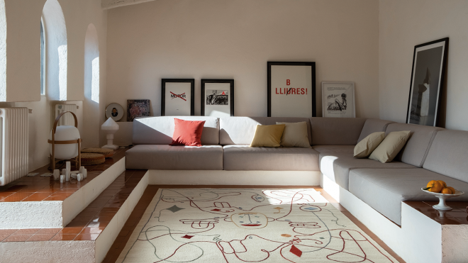 Silhouette Rugs Have Their Eye on You - Design Milk