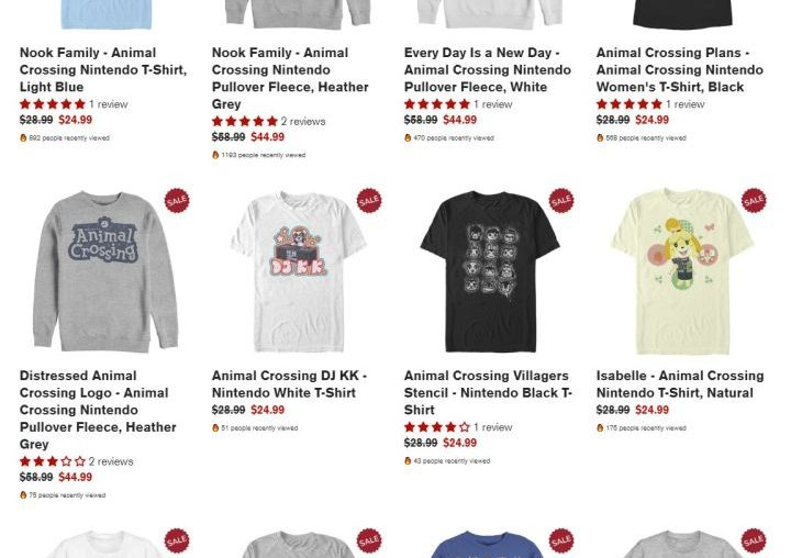 On Sale This Week in the IGN Store: All Our Animal Crossing Designs