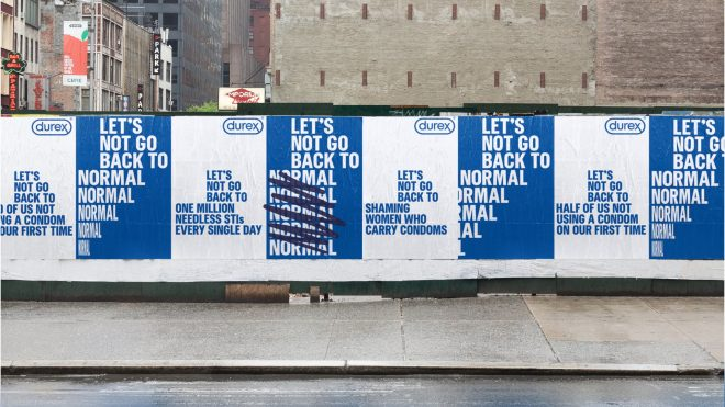 Durex looks for lasting change in new campaign
