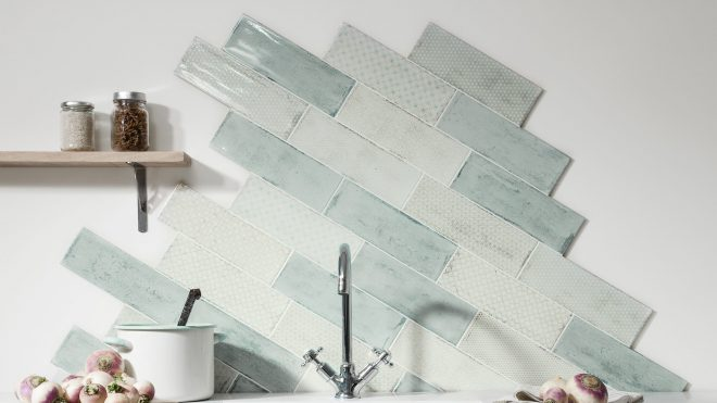 Wall tile trends 2020 – new looks for tiles, including layouts, colours and patterns you'll love