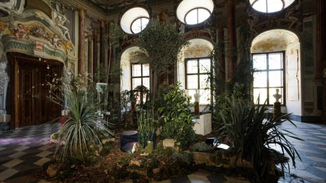 Designers react to the wild side of nature inside an Austrian castle