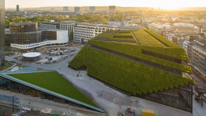 Europe's Largest Green Façade Has Been Completed in Germany - Architizer Journal
