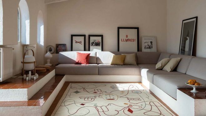 """"""" Silhouette """" Jaime Hayon's Second Rug Collab' with Nanimarquina"""