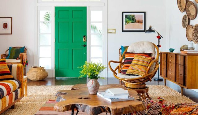 8 Front Door Colors That Make a Bright First Impression   Hunker